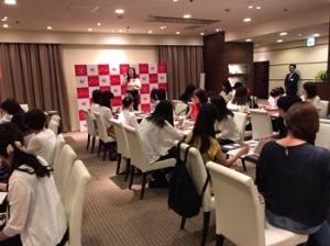 阪神百貨店 うめいち女子フェス メイクアップセミナー